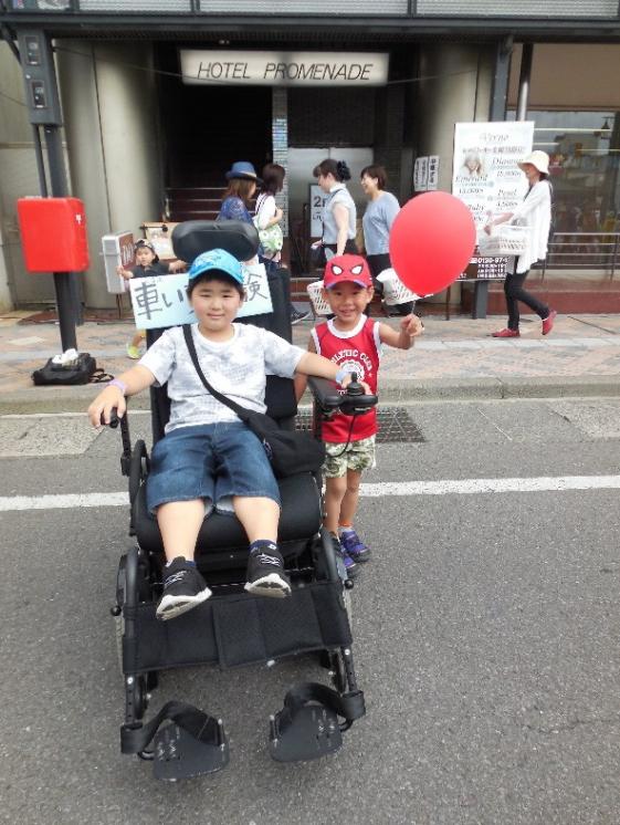 カルチュアロード 障害者支援施設山郷館 電動車椅子の試乗体験