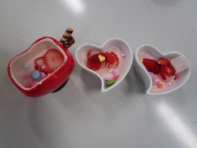 バレンタインスイーツ教室 弘前市障害者生活支援センター